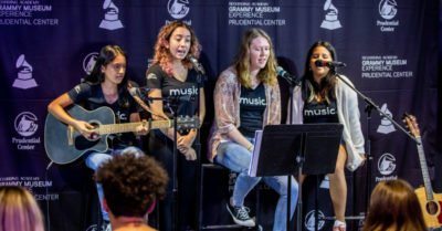 Students Participate in Grammy Museum Summer Experience Program