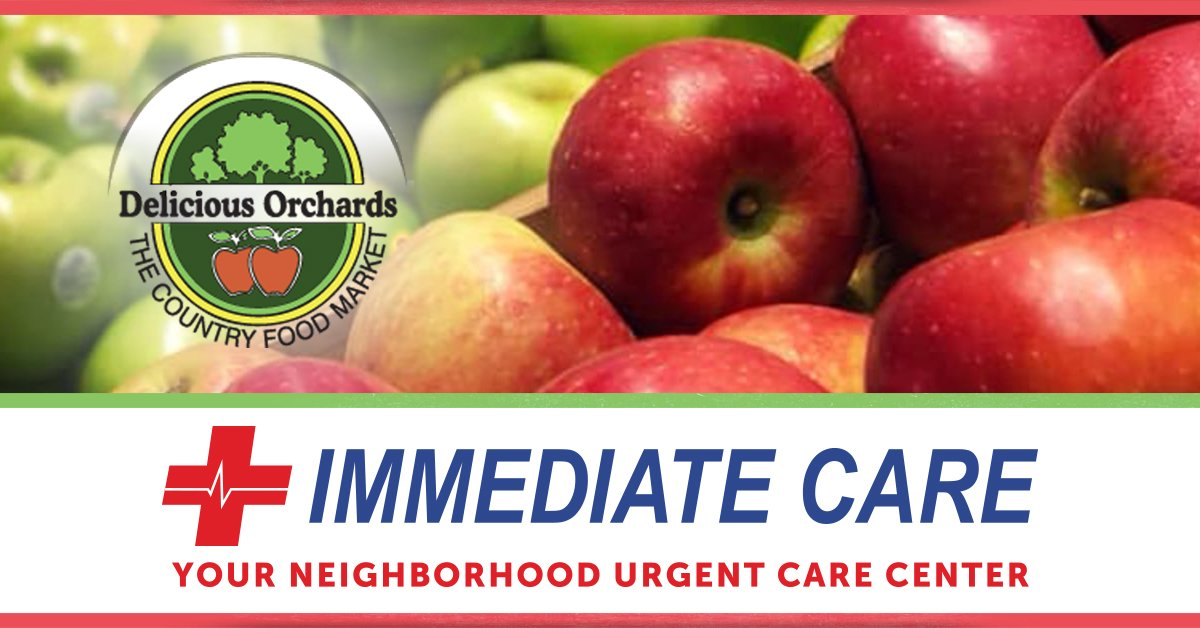 Delicious Orchards Gift Card Contest Presented By Immediate Care