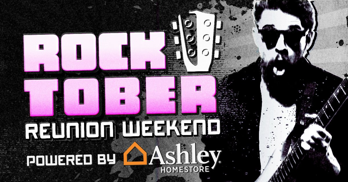 Rocktober Reunion Weekend powered by Ashley HomeStores