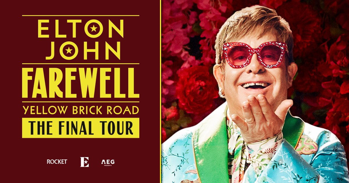 Sir Elton John's Farewell Tour at Metlife Stadium in East Rutherford – July 23rd, 2022!