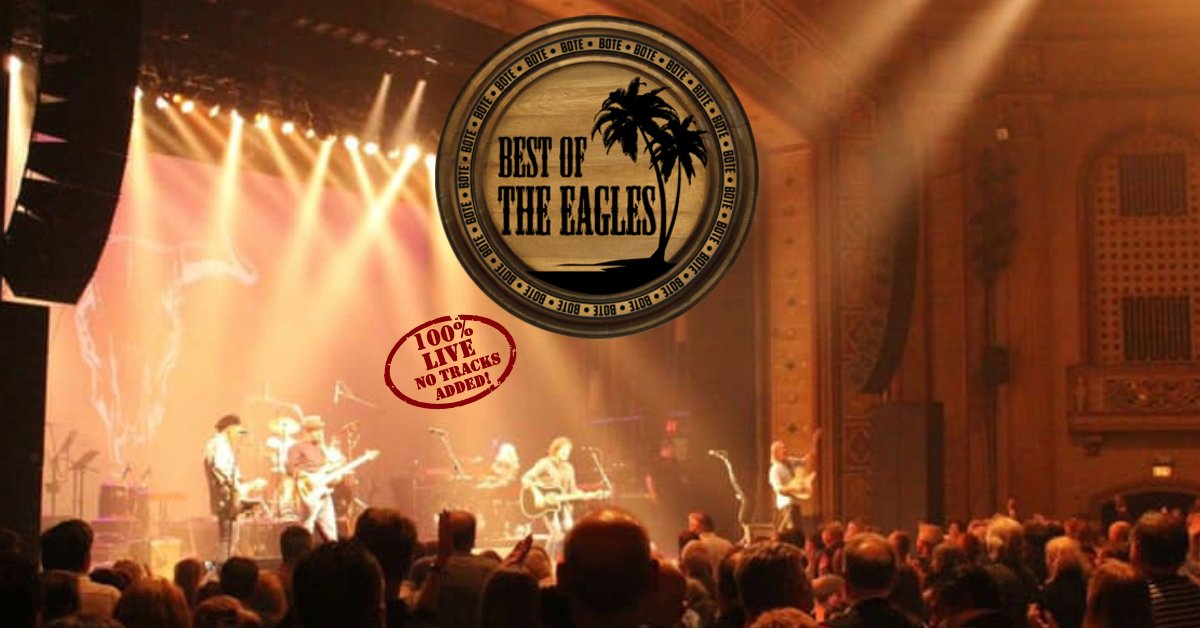 Best of the Eagles at The Wellmont Theater in Montclair – September 30th!