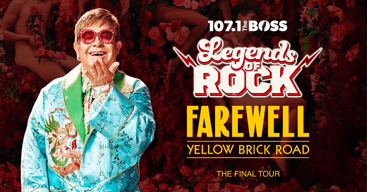 'Legends of Rock': Elton John 'Farewell Yellow Brick Road' The Final Tour